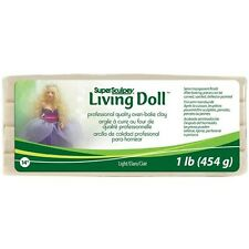 Polyform Super Sculpey Living Doll Clay 1 Pound - 424609