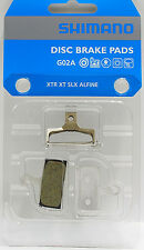 Shimano G02A Disc Brake pads Fit XTR XT SLX Deore ALFINE & RB DISC Brake AS G01A