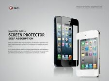 GGS Self-Adhesive Glass LCD Screen Protector For Apple iPhone 4/4s Black UK