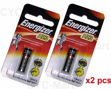 2 pcs x Energizer A23 (BP1) Car Remote Batteries FREE POST World-wide