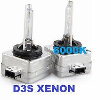 Coppia lampade bulbi universali XENO ricambio D3S 6000K. Xenon bianco.Lampadine!