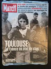 paris match n°2732 toulouse 21 septembre AZF  2001