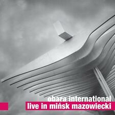CD OBARA INTERNATIONAL   Live in Mińsk Mazowiecki  CD+DVD ( For Tune 2015)