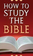 Bible Study Books How to Study the Bible Christian Books Private Bible Time