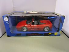 UT MODELS 1/18 RED FERRARI F355 SPIDER USED IN THE BOX  *READ* VERY NICE CAR