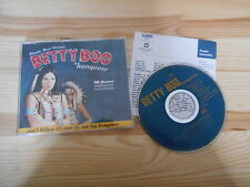 CD Pop Betty Boo - Hangover (4 Song) Promo WEA + Presskit