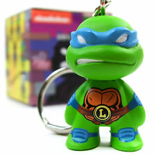 Kidrobot TMNT SHELL SHOCK KEYCHAIN SERIES LEONARDO Teenage Mutant Ninja Turtles