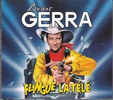 2 X CD ALBUM DIGIPACK LAURENT GERRA *LAURENT GERRA FLINGUE LA TELE*