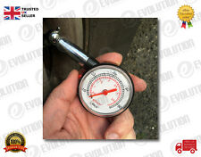 CAR & BIKE & MOTOBIKE DIAL TIRE GAUGE METER PRECISION PRESSURE TYRE MEASURE