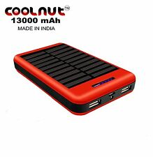 COOLNUT Solar Power Bank 13000mAh For All Smartphones