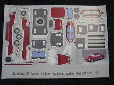 Poster Mercedes-Benz E-klasse Heb je ernog geen, maak er dan zelf een (JS)