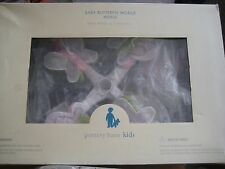 Pottery Barn Kids ~ Baby Butterfly Mobile Musical ~for Crib with Musical Box New