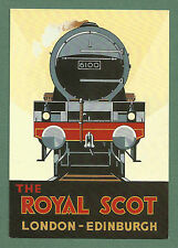 MODERN ARTIST-DRAWN SANTORO GRAPHICS P/C BY COLIN ASHFORD c1990'S - ROYAL SCOT