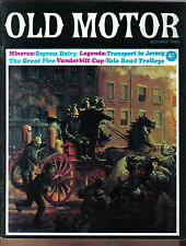 Old Motor Vol 5 No 1 Oct 1966 Minerva Vanderbilt Cup Merryweather Trolley car +