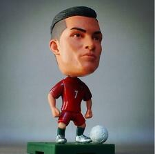 """Cristiano Ronaldo Portugal Soccer Football Star Player 2.5"""" Action Doll Toy"""