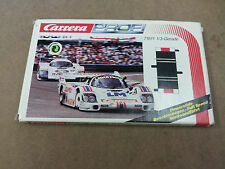 ^ Carrera Pro F1 Slot Car 2x 1/3 Straight Track Section #71511 in Original box