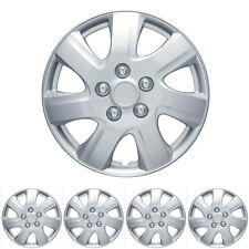 4 Piece Set Hubcap 16 Inch OEM Replacement Fit Full Lug Rim Covers Snap On Inst.
