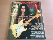 New YOUNG GUITAR Music Magazine Book July of 2016 Yngwie Malmsteen from JAPAN