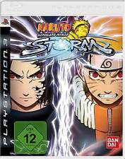 Playstation 3 Naruto ultimate ninja storm * allemand * NOUVEAU