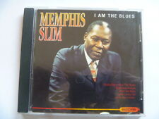 MEMPHIS SLIM - I AM THE BLUES - 14 TRK FREEPOST CD [MINT]