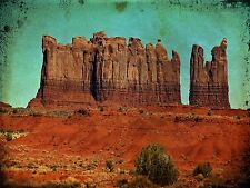 ART PRINT POSTER PHOTO LANDSCAPE MONUMENT VALLEY UTAH USA CLIFF ROCK LFMP0046