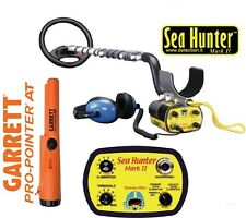 METAL DETECTOR CERCA METALLI GARRETT SEA HUNTER MARK II 2 + PRO POINTER AT