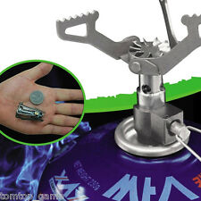 25g Titanium Alloy Outdoor Cooking Burner Folding Gas Stove BRS-3000T 2700W
