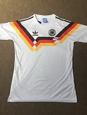 Germany Home 1990 Retro Vintage Football Shirt Large *1st CLASS RECORDED*