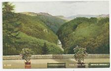 "Valentine's ""Art Colour"", A.538, View From Hotel, Devil's Bridge"