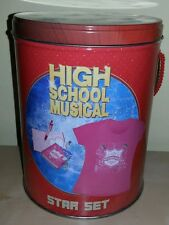 Star set high school musical maglietta + diario segreto e penna disney originale