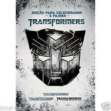 Transformers Trilogy DVD [Audio and Subtitles in English + Portuguese] Region 4