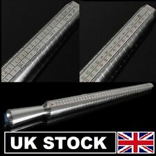 Ring gauge finger Sizer Stick Sizes UK / US / EU Measure Jewellery Jewellers