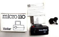 Vintage VIVITAR MICRO Mini 110 POCKET CAMERA W/ Original Papers & Box - NOS