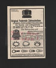 STUTTGART, Werbung 1935, Zahnscheibenfabrik J. Meye & Co. mbH
