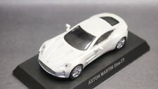 kyosho 1/64 ASTON MARTIN minicar collection One-77 White new