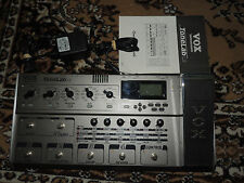 VOX TONELAB LE MULTI EFFECTS PEDAL PROCESSOR TUBE w/POWER SUPPLY & MANUAL
