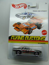 CAMARO 1969 CHROME RACE CAR FLYING CUSTOMS HOT WHEELS MINT ON CARD
