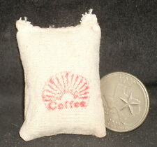 Market Coffee Sack 1:12 Store Western Dry Goods Miniature Cowboy #WO1905(1)