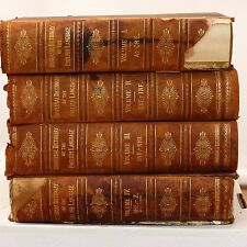 1898 Universal Dictionary of the English Language P.F. Collier in 4 Volumes