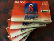 Video 8 Cassette ovp Super Profi Qualität SONY P5-60MP3 V8 D8, MP Metal Particle