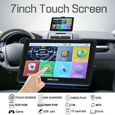 "KKMOON 7"" HD Touch Car GPS Navigator FM MP3 Video Player 128MB 8GB Map US L4V7"