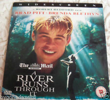 A RIVER RUNS THROUGH IT - BRAD PITT - PROMO DVD (FREE UK POST)
