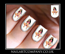 Nail Art Decals Nicki Minaj Music Transfers Stickers Wraps Foils Manicure X 32