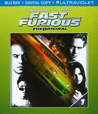 The Fast and the Furious (Blu-ray + Digital Copy + UltraViolet + Furious 7 Fanda