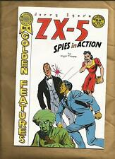 Jerry Iger's Golden Features 4 1986 Spies Nazi story ZX-5 Blackthorne US comics