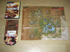 FAR CRY 2 Pc DVD Rom Original FARCRY II  with Manual & Map - Fast Post