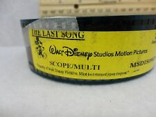 Last Song, The Miley Cyrus 35mm movie trailer preview film cells collectible