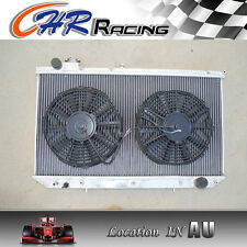 For LEXUS GS300 / TOYOTA ARISTO 2JZGE 1993-1997 Aluminum Radiator + 2*Fans