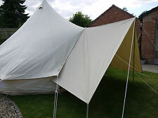 Bell Tent Canvas  Awning / Tarp Large 400 x 240cm By Bell Tent Boutique