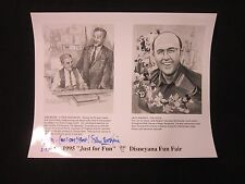 Disneyland Imagineer Photo Disneyana Fun Fair Signed by Sam McKim
